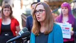 La demócrata Sarah McBride, primera mujer transgénero en ganar un escaño en un Senado estatal de