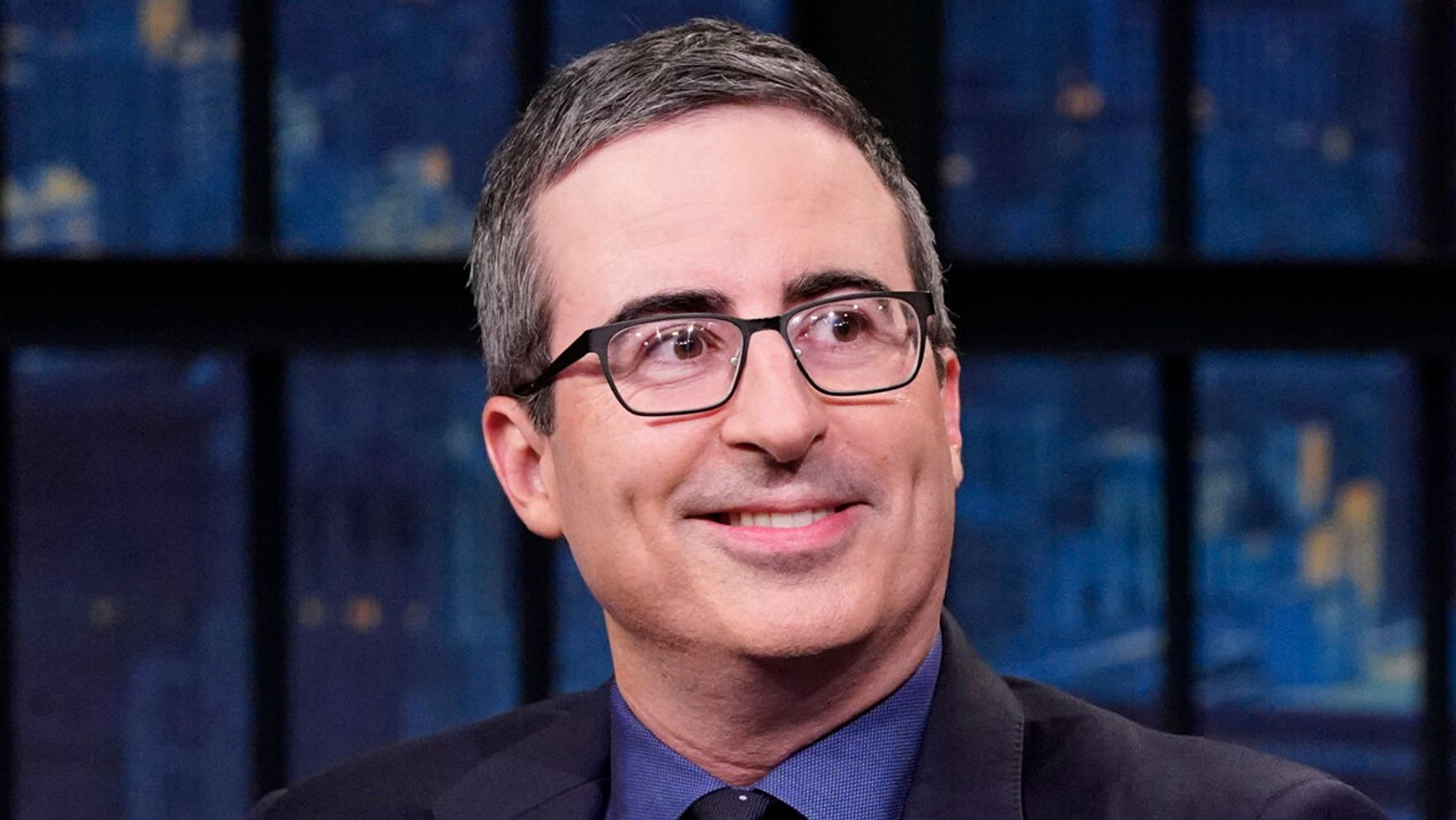 John Oliver Casts His First Vote As A U.S. Citizen: 'I Nearly Burst Into Tears'