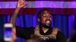 Kanye West desata todo tipo de bromas por lo que hizo al votarse a sí