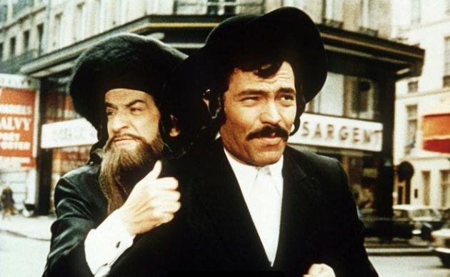 Claude Giraud avec Louis de Funès dans