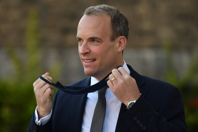 Foreign Secretary Dominic