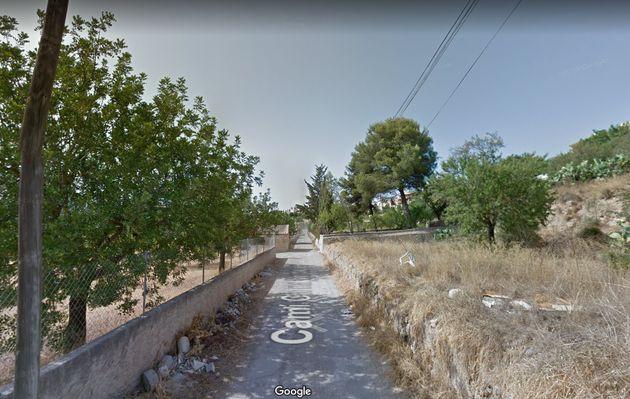 Camí de Ca na Verda, en Palma de
