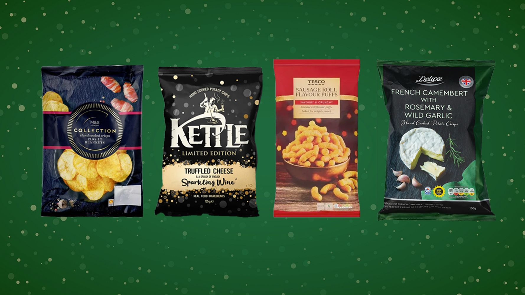 Merry Crispmas! The Best Festive Crisp Flavours Of 2020, Ranked