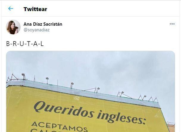 El tuit viral sobre el