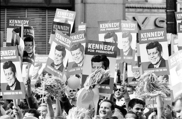 Seguidores de John Fitzgerald Kennedy, en