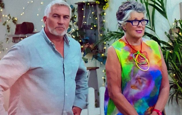 Paul Hollywood and Prue Leith on The Great British Bake