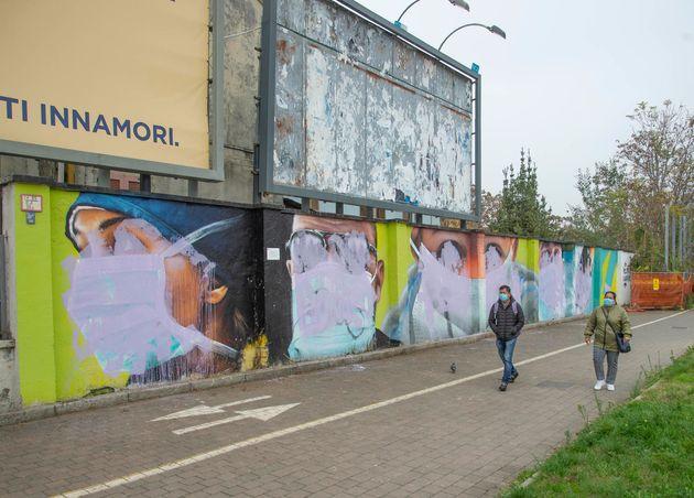 I murales realizzati dallo street Artist Cheone in collaborazione con Spazio Baluardo, dedicati agli...