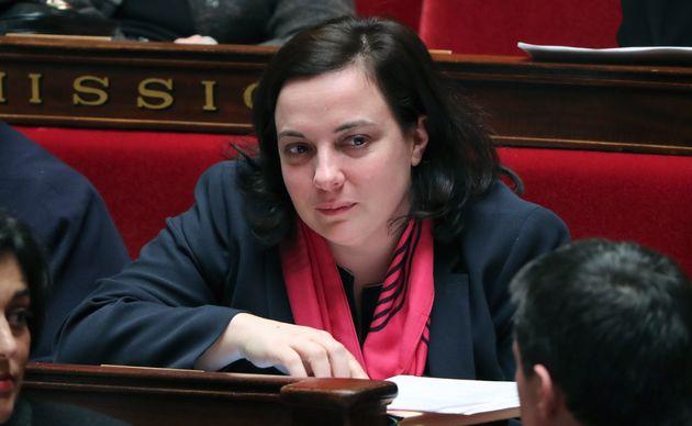 Emmanuelle Cosse, ici en mars 2016 à l'Assemblée nationale, a été élue...