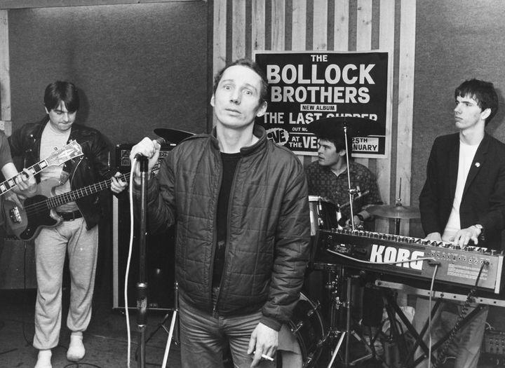 Fagan hizo una versión de God Save the Queen con el grupo The Bollock Brothers en 1983.