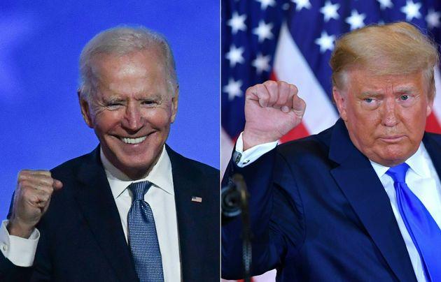 Joe Biden y Donald Trump, candidato demócrata y republicanos a la Casa Blanca,