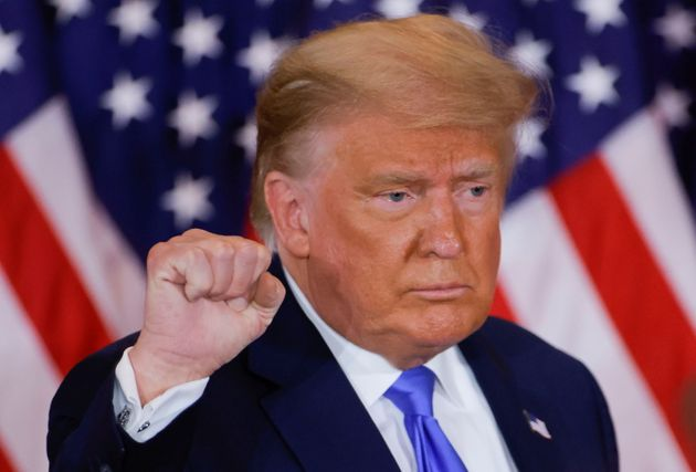 Donald Trump, en su primera comparecencia tras las elecciones del 3 de