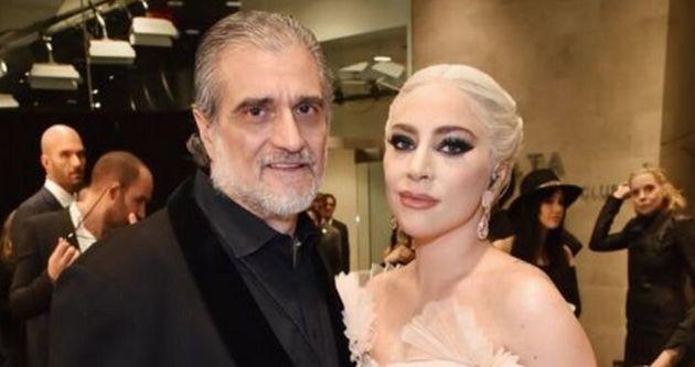 レディー・ガガさんと、父親のジョー・ジャーマノッタさん(2018年のグラミー賞授賞式で撮影)