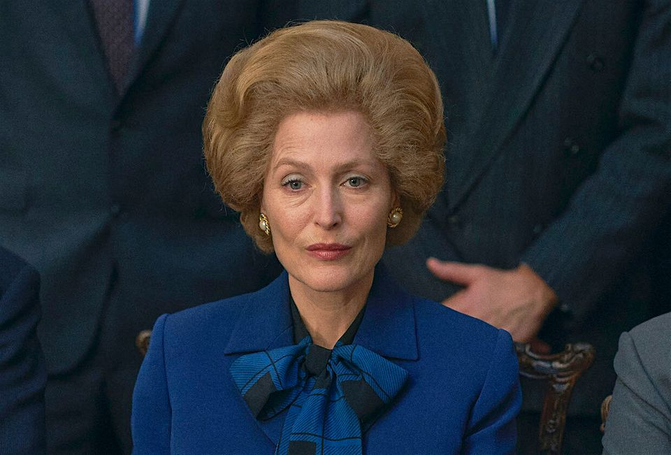 Gillian Anderson plays Margaret Thatcher in The Crown's fourth