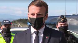 Macron annonce le doublement des effectifs de contrôle aux
