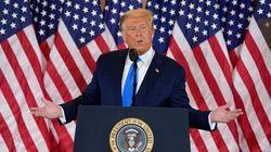 Ataques furiosos y sin base legal, la estrategia de Trump a medida que sus opciones se