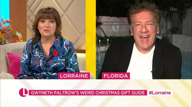 Lorraine Kelly Really Doesn't Hold Back With Her Thoughts On Gwyneth Paltrow's Latest Goop Products