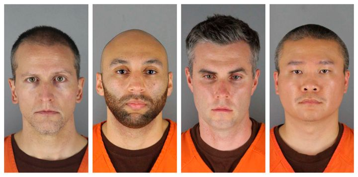 FILE - This combination of file photos, provided by the Hennepin County, Minn., Sheriff's Office, shows, from left, Derek Cha