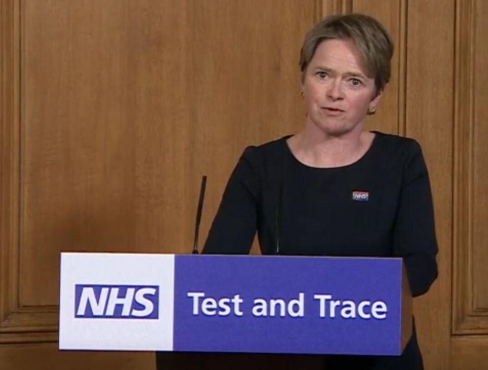 Baroness Dido Harding, who heads up NHS Test and