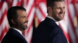 Donald Trump's Adult Sons Spreading Election Disinformation To Discredit