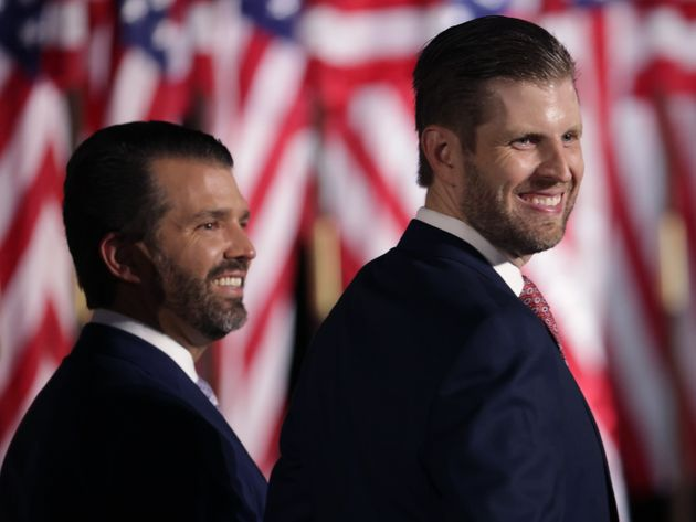 Donald Trump's Adult Sons Spreading Election Disinformation To Discredit Vote