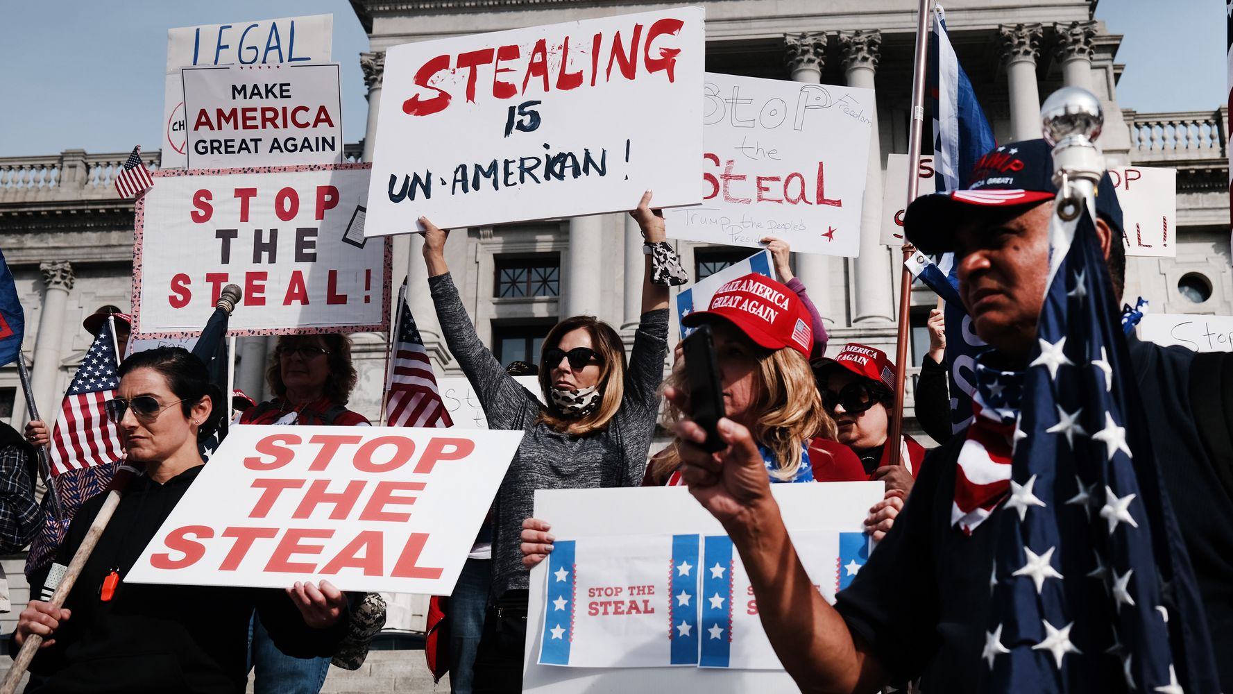 Nationwide 'Stop The Steal' Protests Are Being Pushed By GOP Operatives And The Far-Right