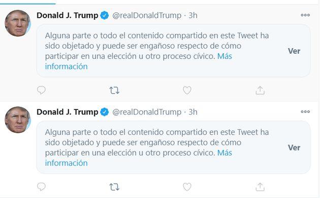 Los últimos tuits de Donald