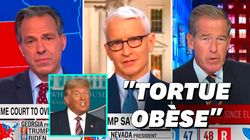 Les chaînes d'info américaines n'ont pas épargné Trump après sa nouvelle sortie