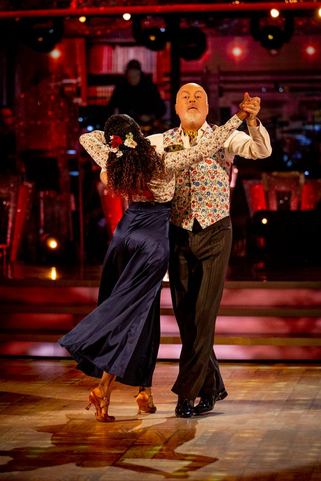 Bill and Oti are the bookies' favourites to win the
