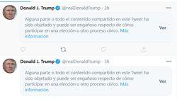 Twitter ha desmentido tanto a Trump en las últimas horas que hemos perdido la