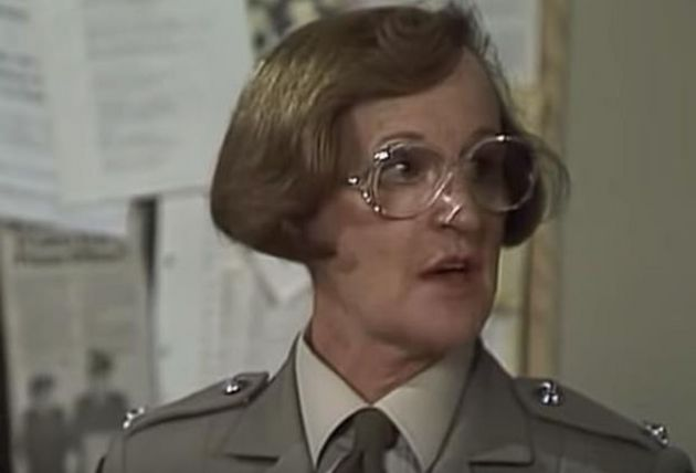 Joy Westmore as Officer Barry in Prisoner Cell Block