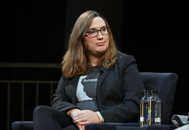 Sarah McBride,primera senadora estatal abiertamente transgénero del
