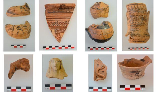Κεραμεική των γεωμετρικών και αρχαϊκών