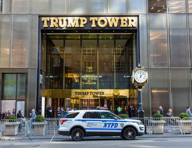 Fachada de la Torre Trump, en Nueva