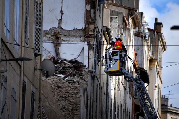 Le 5 novembre 2018, deux immeubles insalubres s'étaient effondrés rue d'Aubagne, à...