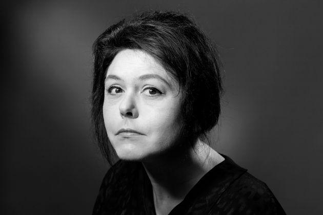 Chloé Delaume lors d'une séance photo à Paris, le 1er septembre 2016. (Photographie...