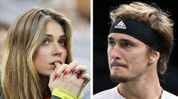 L'ex del tennista Zverev: