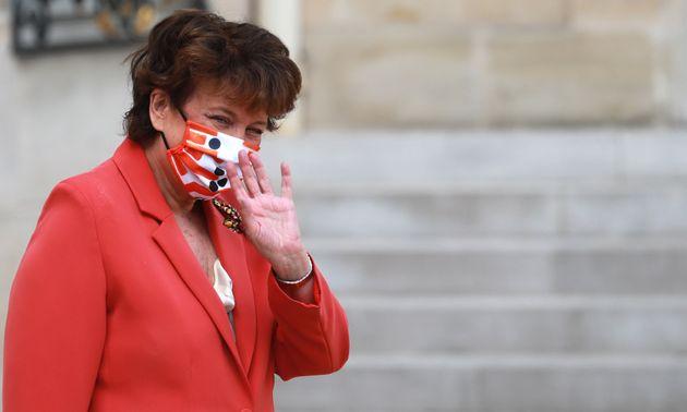 Roselyne Bachelot, ici le 26 août à l'Élysée, a émis l'idée de réduire le montant du Pass culture tout...