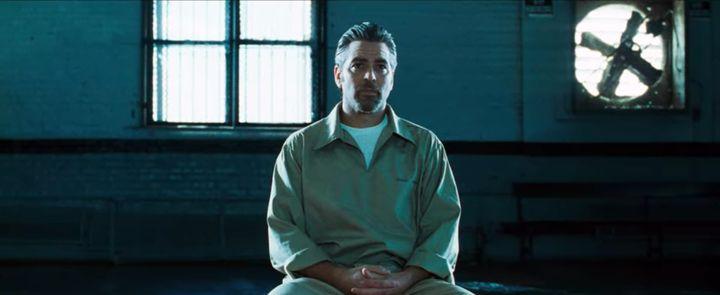 "The opening scene of ""Ocean's Eleven"" on Netflix."