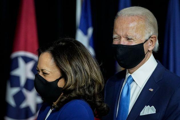 Kamala Harris y Joe Biden, durante la