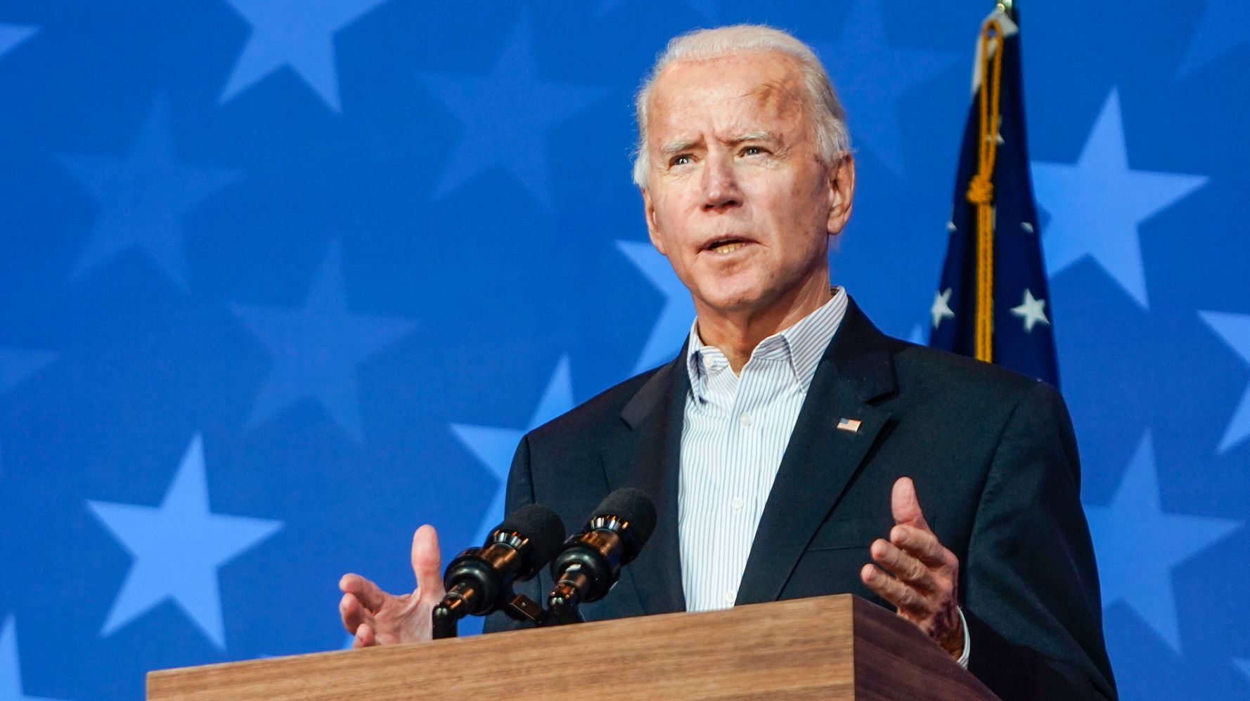 Joe Biden Had To Beat Donald Trump With One Hand Tied Behind His Back