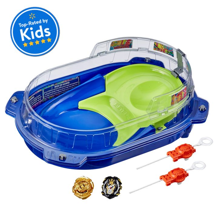 """Kiddos who are fans of the Beyblade anime series will love <a href=""""https://goto.walmart.com/c/2055067/565706/9383?subId1=5&amp;subId2=30days-day1&amp;subId3=Day1-toys&amp;sharedid=30days20&amp;veh=aff&amp;sourceid=imp_000011112222333344&amp;u=https%3A%2F%2Fwww.walmart.com%2Fip%2FBeyblade-Burst-Rise-Hypersphere-Vortex-Climb-Battle-Set-Top-Rated-by-Kids%2F198760789"""" target=""""_blank"""" rel=""""noopener noreferrer"""">this Vortex Climb Beystadium battle set</a>.&nbsp;"""