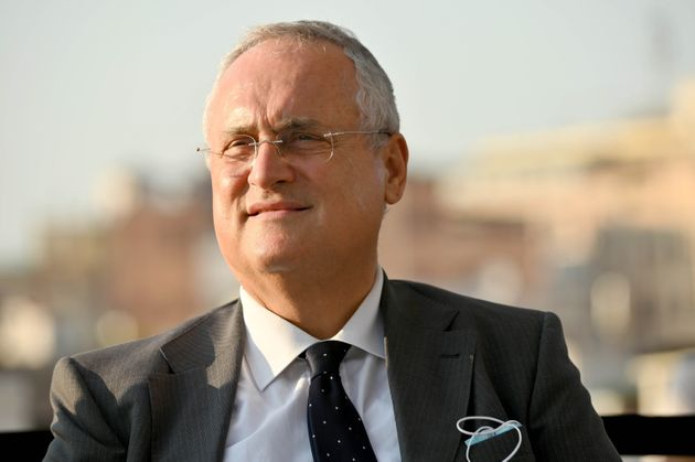 Tamponi Lazio, Claudio Lotito: