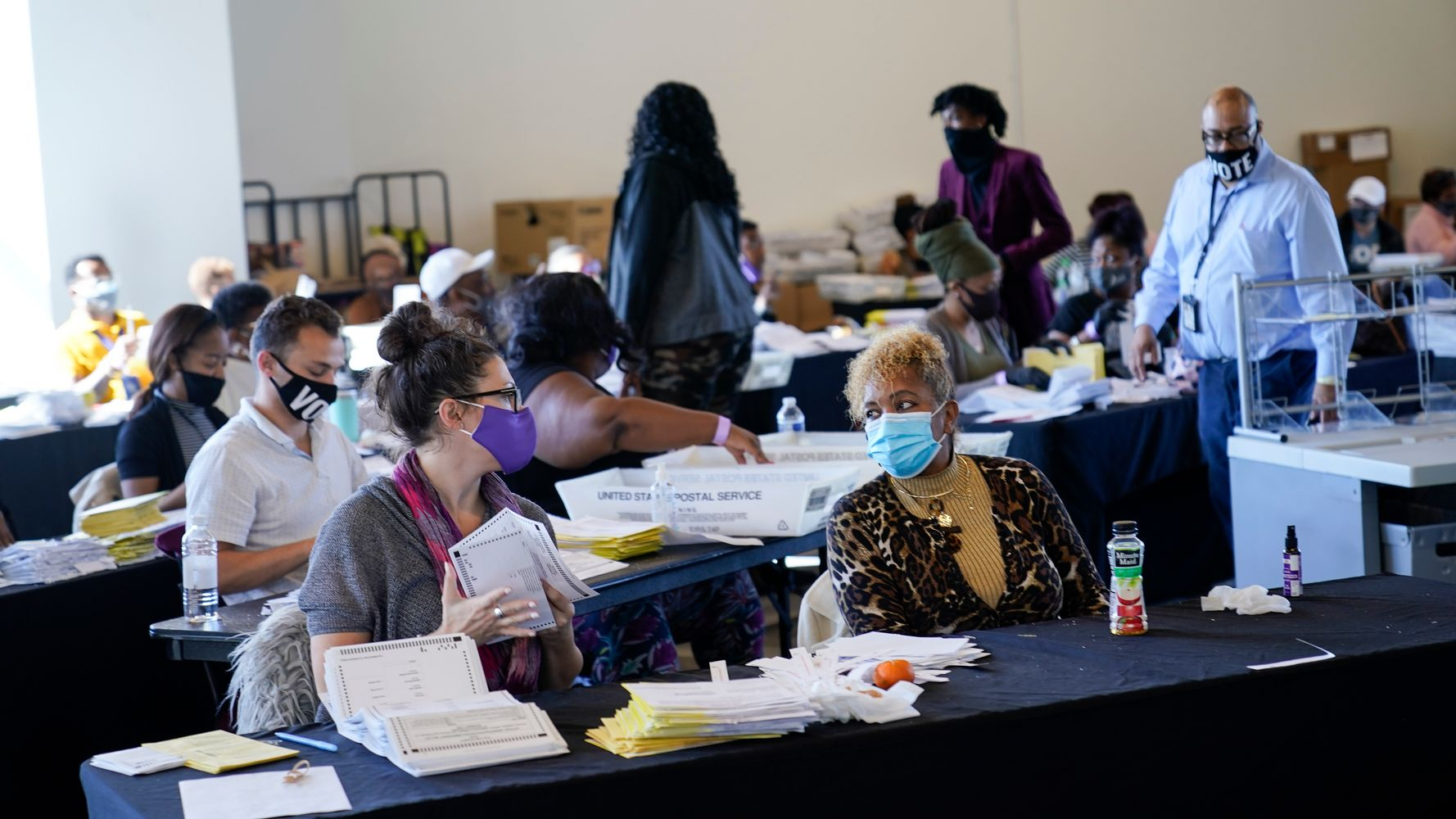 GA Poll Worker In Hiding After False Fraud Claims Surface Online