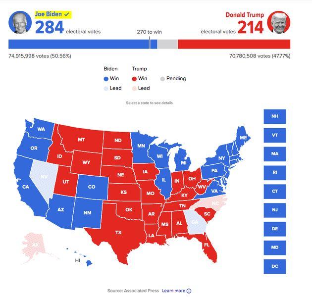 Mapa de la victoria de Joe