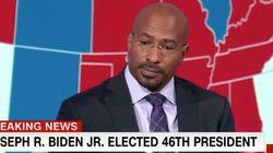 CNN 진행자가 당선자 확정 후 눈물을 흘린 이유