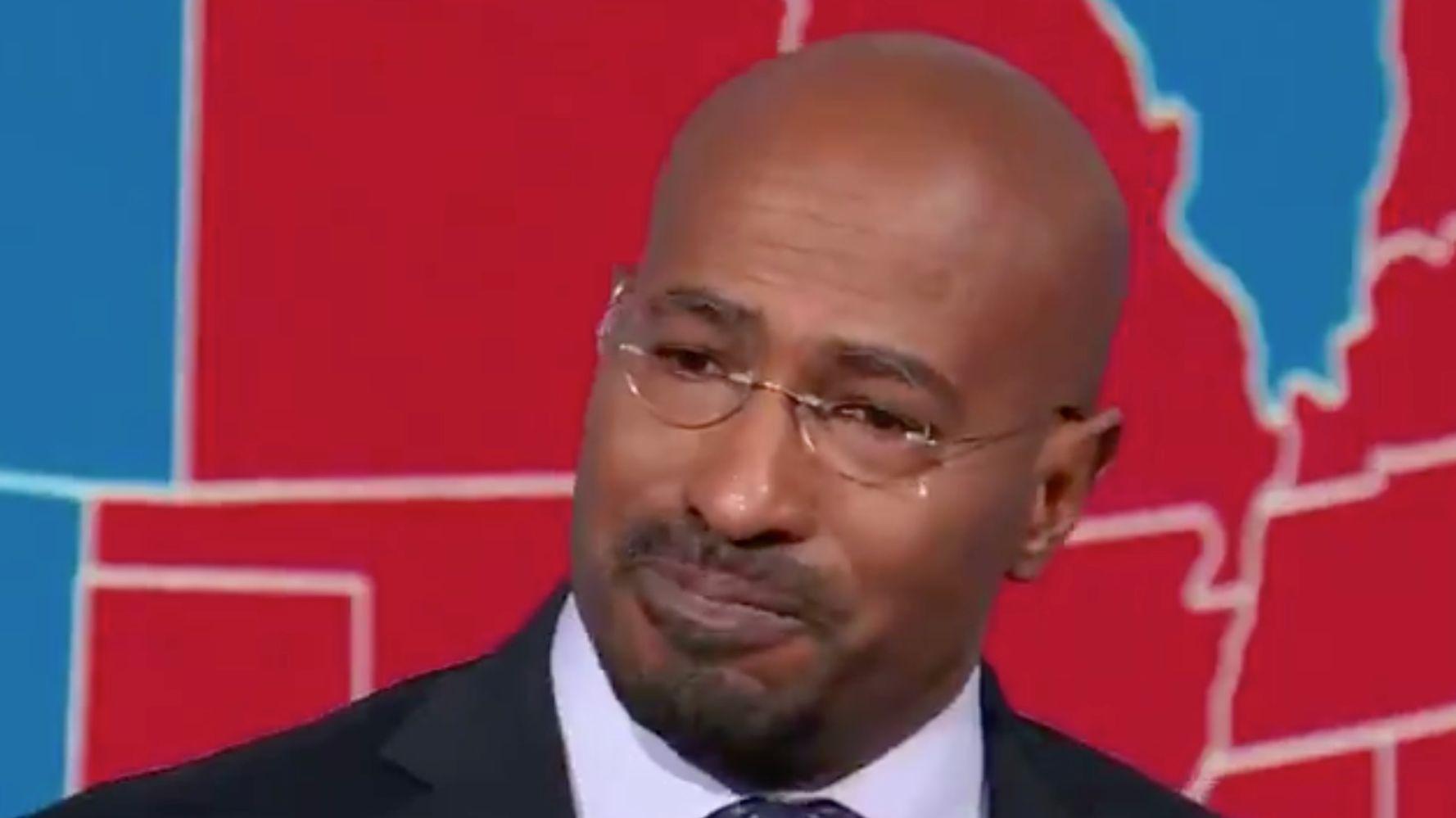 CNN Host Van Jones Moved To Tears Over Biden's Win