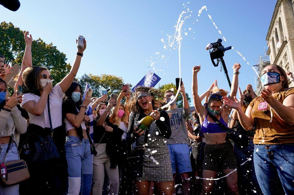 Amazing Photos Of Celebrations As Joe Biden Defeats Donald