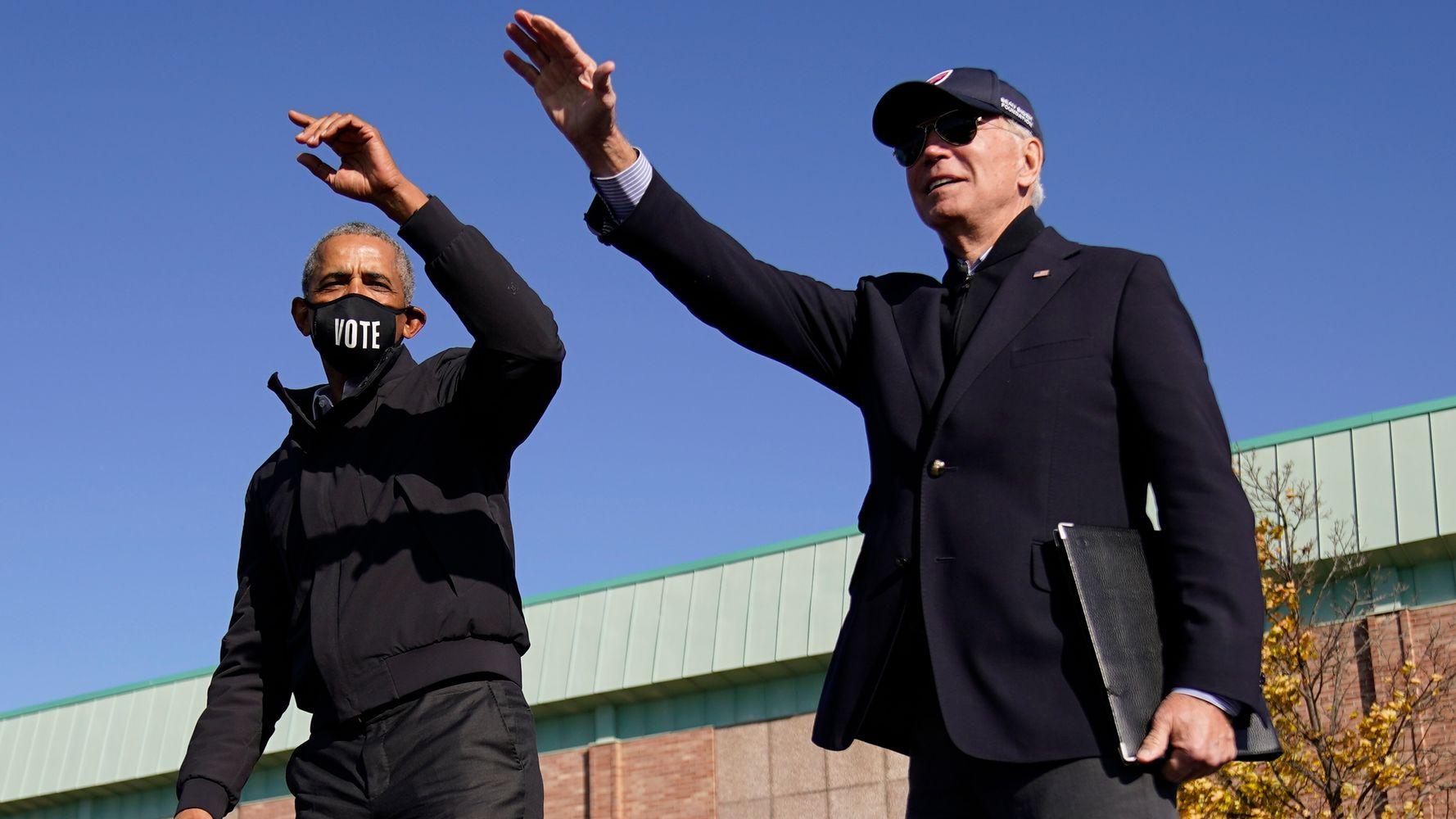 Barack Obama Congratulates Joe Biden And Kamala Harris: 'Couldn't Be Prouder'