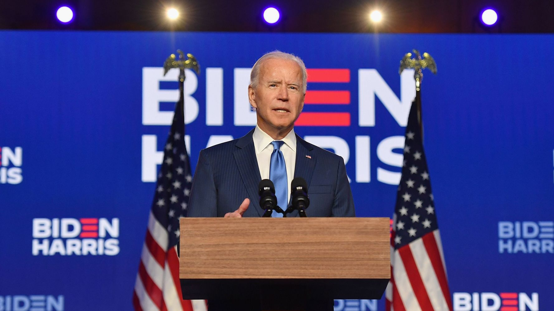 Joe Biden Promises 'Time To Heal' In Victory Speech