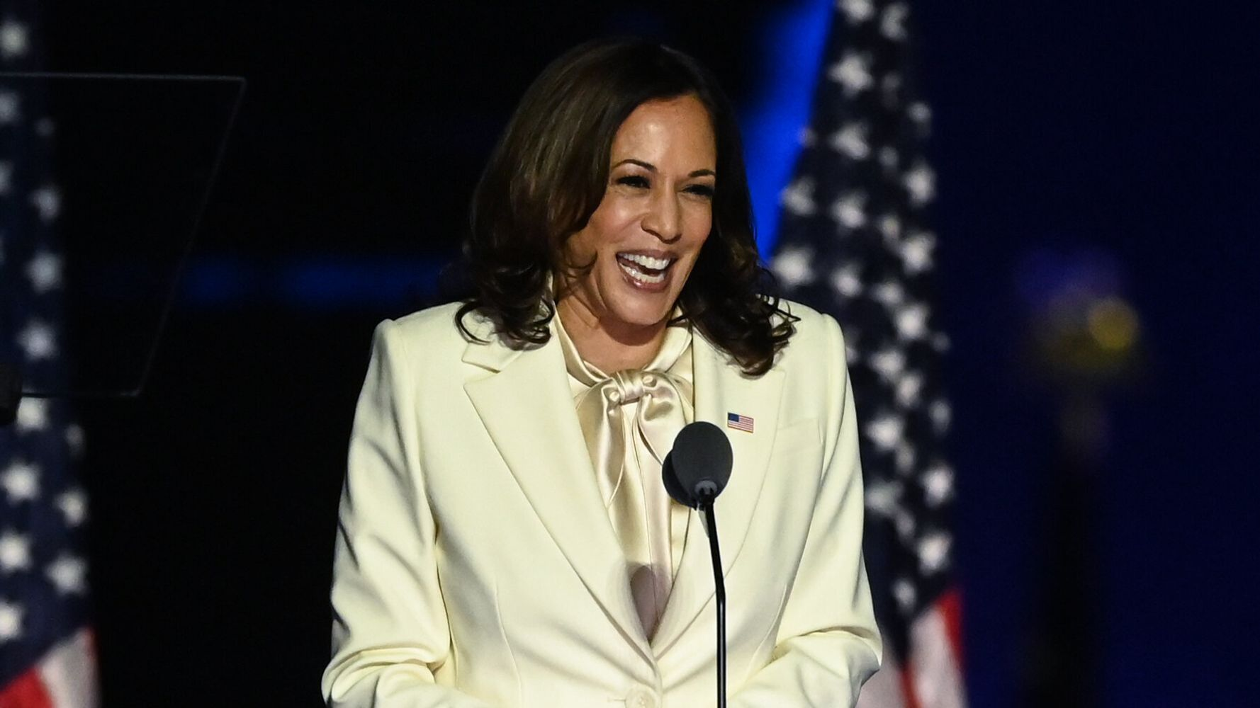 Vice President-Elect Kamala Harris Ushers In 'New Day For America' In Victory Speech